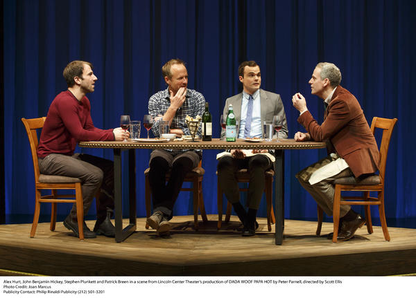Alex Hurt, John Benjamin Hickey, Stephen Plunkett, and Patrick Breen - Dada Woof Papa Hot